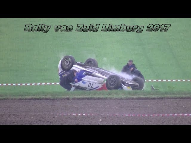 Rally van Zuid Limburg 2017 Mistakes, Crash&Action