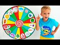 Download lagu Vlad and kids story about Magic wheel