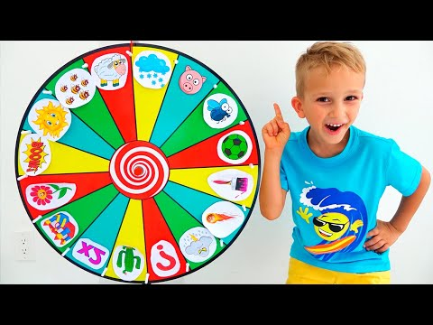 Vlad and kids story about Magic wheel