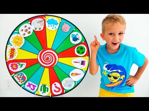 Download  Vlad and kids story about Magic wheel Gratis, download lagu terbaru