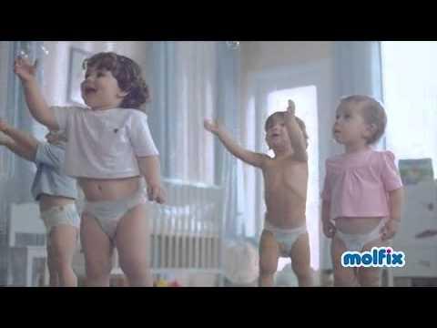 Yeni Molfix Mutlu Bebekler Mutlu Yarınlar Reklamı