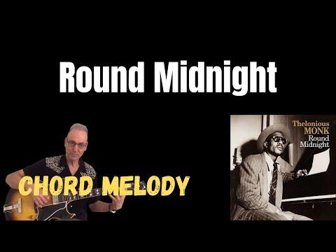 Round Midnight - Jazz Guitar Solo - YouTube
