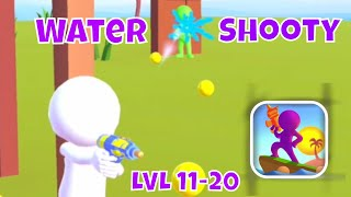 🔫WATER SHOOTY🔫GAMEPLAY☂️LEVELS 11-20 + BOSS by Rollic (iOS)