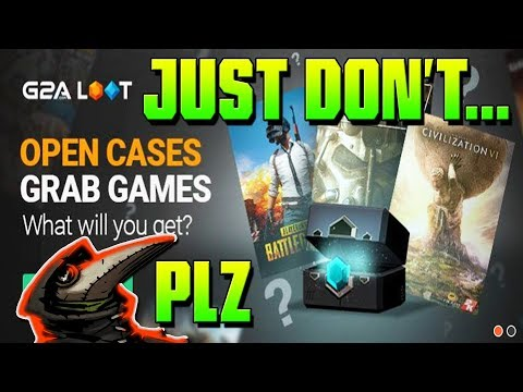 How NOT to Buy Steam Keys... ➤ G2A Loot Boxes/Cases