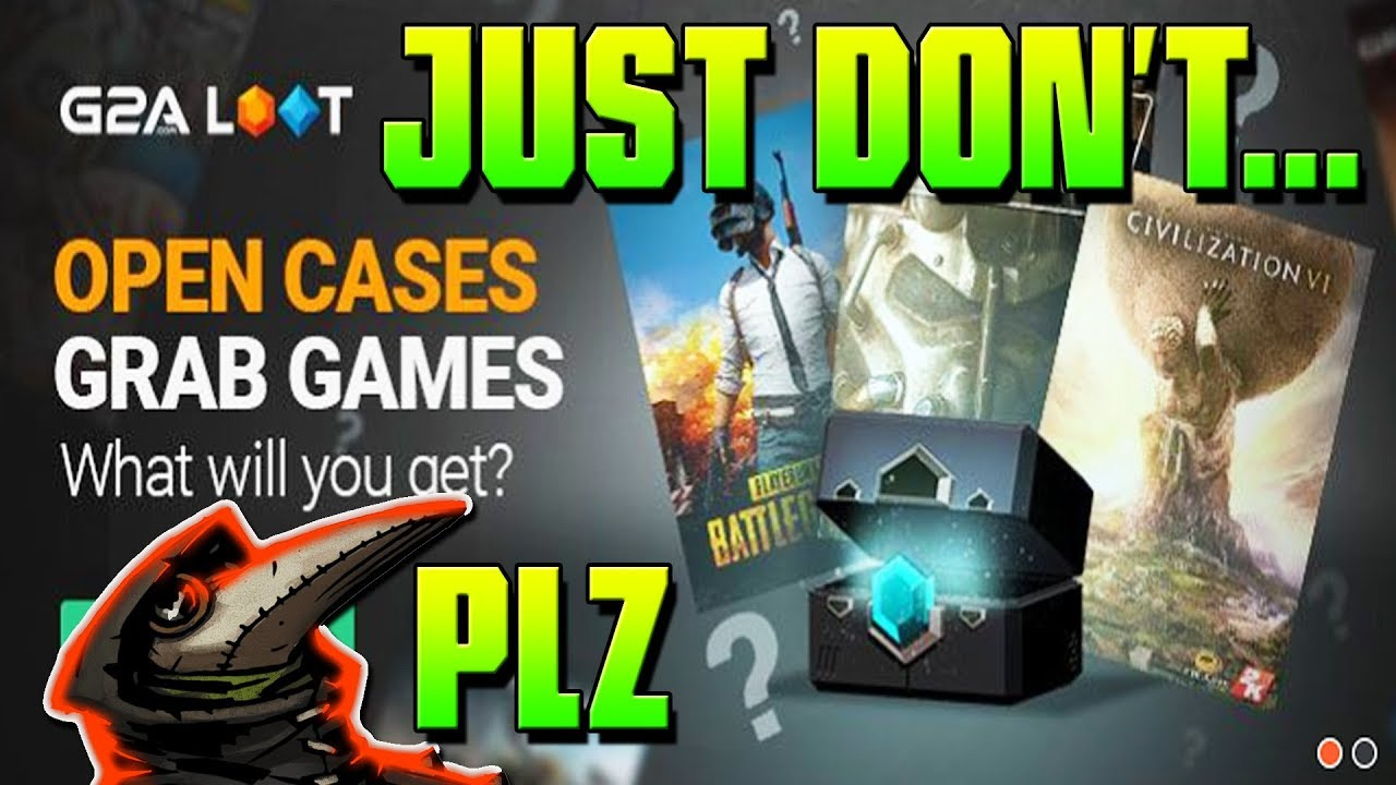 How NOT to Buy Steam Keys    ➤ G2A Loot Boxes/Cases