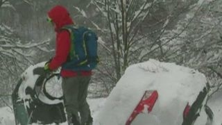 Italian hotel buried by snow after avalanche