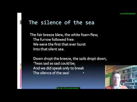 d4ed0dce7727a8 The Rime of the Ancient Mariner Part 2.mp4 - YouTube