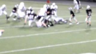 Hard 8th grade football hit