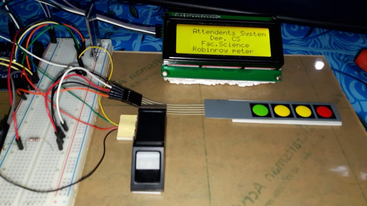 Fingerprint based portable attendance system using arduino