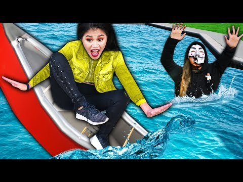 LAST TO SINK On SHIP WINS $10,000 IN NINJA GADGETS (SPY NINJA TRAINING)