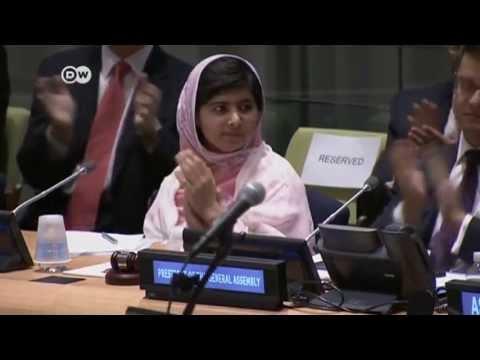 Taliban-Opfer Malala  wird in New York gefeiert   Journal