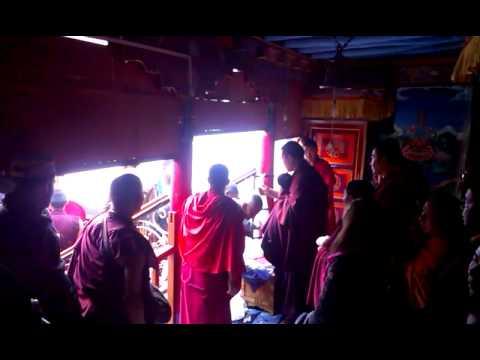 Karmapa at Stokna Gompa 3