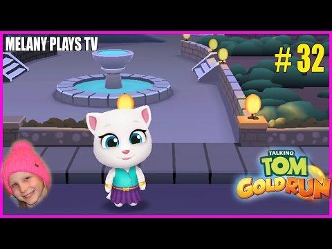 🎮Talking Tom Gold Run 🕹 Том за золотом с Мелашей прохождение #32 | Melany Plays TV