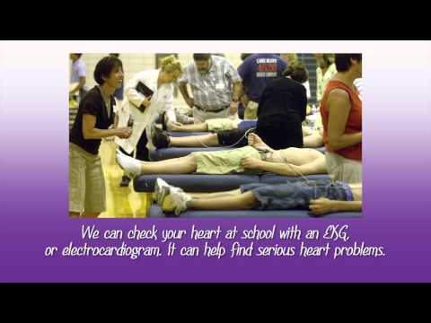 Students Talk About Screens for Teens Heart Checks 2013