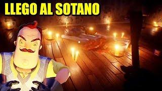 LLEGANDO AL SOTANO!!! - ACTUALIZACIÓN HELLO NEIGHBOR | Gameplay Español
