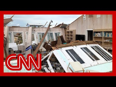 Abaco Islands of Bahamas ravaged by Hurricane Dorian