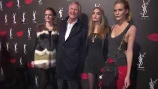 Cara Delevingne launches YSL Lipstick