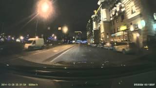 ДТП Москва 9 машин на Павелецкой 20 декабря 2014.Регистратор Мерседес.