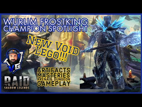 Raid Shadow Legends Wurlim Frostking Champion Guide and Build