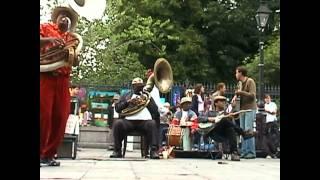 Tuba Fats Jackson Square New Orleans May 2002 - Milenberg Joys
