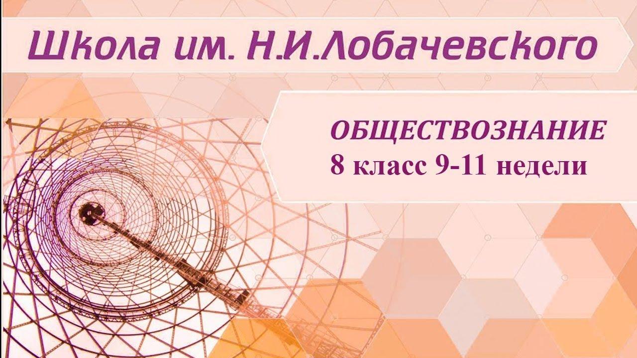Обществознание 8 класс 9-11 недели. Образовательное право в РФ