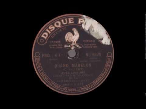 La Madelon - Version originale de 1917 - Marcelly
