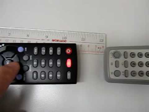 Tutorial - how to learn the Universal remote control