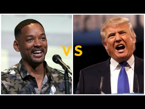 WILL SMITH'S Opinions About DONALD TRUMP : Dubai : August 2016