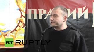 Ukraine: Yarosh calls for ministerial resignation over death of far-right militant