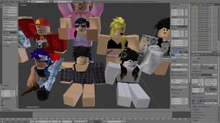 Making a Group Picture - ROBLOX