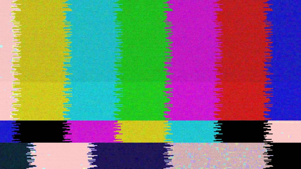 Real No Signal tv Old Tv Colors 3 FREE FOOTAGE HD - YouTube