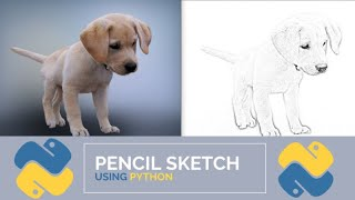 Image To Pencil Sketch In 12 Lines OfCode Using Python