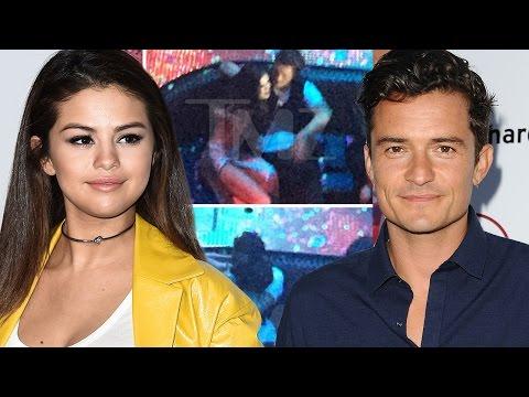 Selena Gomez & Orlando Bloom MAJOR PDA In Vegas Nightclub