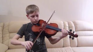 """Мелодия из фильма """"Шерлок Холмс и Доктор Ватсон"""" (скрипка)"""