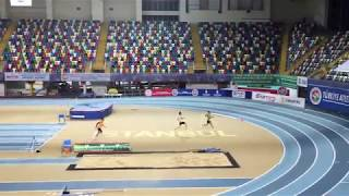 60 metre Engelli Olimpik Deneme - Batuhan Eruygun - Emin Bayram - Furkan Çıngı