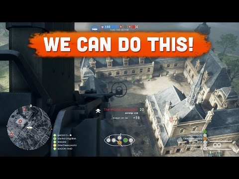 WE CAN DO THIS! - Battlefield 1 | Road to Max Rank #9 (Multiplayer Gameplay)