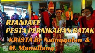 Download Pesta Pernikahan Batak Krista Br Nainggolan Dengan M. Manullang Gondang BATAK Viral