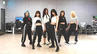 Download [EVERGLOW - FIRST] dance practice mirrored