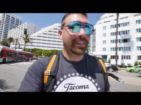 Skating Through Venice Beach California