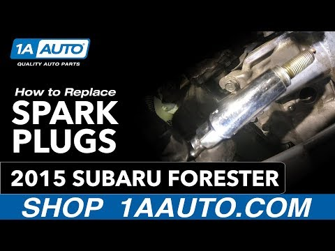 How to Replace Spark Plugs 13-18 Subaru Forester