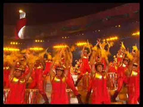 Olympics Games 2008 China Beijing closing ceremony Highlights in the bird nest