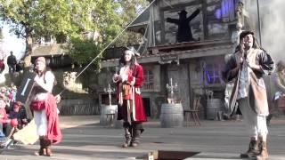Heide Park Piratenshow - Das Gold vom Port Royal 2 mit dem langen Hein (03.10.2013)