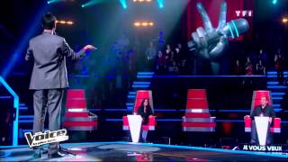 The Voice France - Blind Audition - Yoann Freget (Winner) THE GREATEST LOVE OF ALL / Whitney Houston