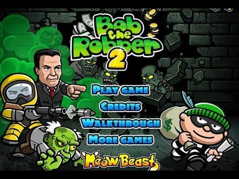 Bob The Robber - Play All Bob The Robber Games Online   Kizi
