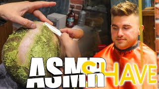 ASMR Head Shave With Avocado | He Did It For Asmr