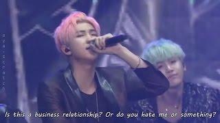 [HYYH] BTS - Danger Live (ENG SUB HD)