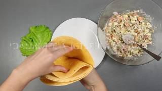 4 cпособа подать салат Оливье необычно #gostobar