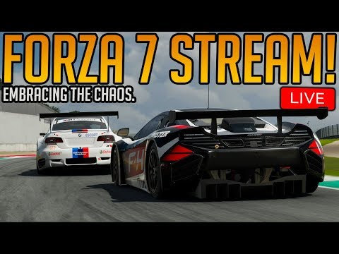 Forza 7: Embracing the Chaos Online