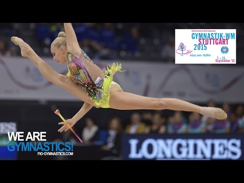 2015 Rhythmic Worlds, Stuttgart (GER) - Highlights 2, Clubs+Ribbon Finals - We Are Gymnastics !