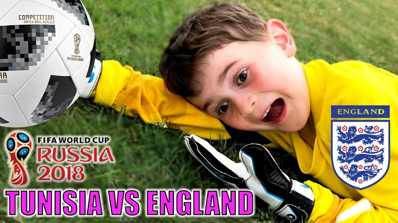 World Cup 2018 - Tunisia Vs England - Recreated by Kids!!